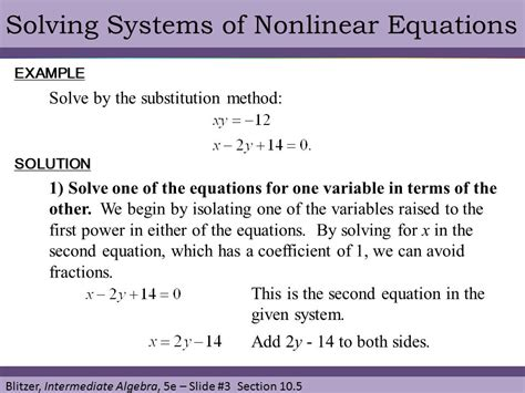 Systems Of Nonlinear Equations Worksheet by Systems Of Nonlinear Equations Worksheet Jennarocca