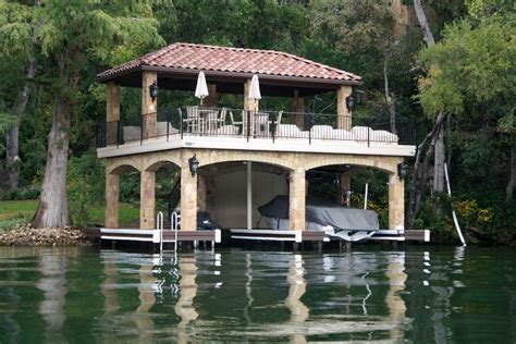 Lakeside House Plans by Two Story Boat Dock Home Boathouse Dock Pinterest