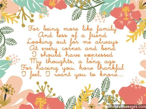 i will forever be thankful to message for thanks you poems for friends friendship poems