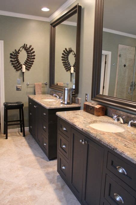 bathroom with dark cabinets 25 best ideas about dark cabinets bathroom on pinterest