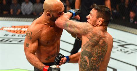 robbie lawler tattoo rafael dos anjos blows robbie lawler away towards likely