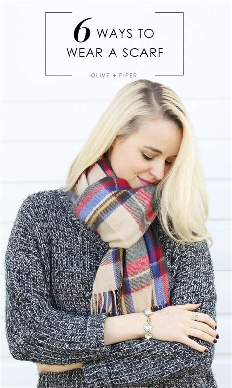 how does it take to knit a scarf how to wear your scarf the 6 most stylish ways olive