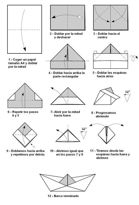 como hacer un barco origami barco de papel comohacerorigami net