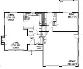tri level house floor plans tri level appeal 77137ld 2nd floor master suite