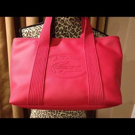 Terasli P001 Lacoste Bag Original lacoste authentic lacoste tote from dianne s closet on poshmark
