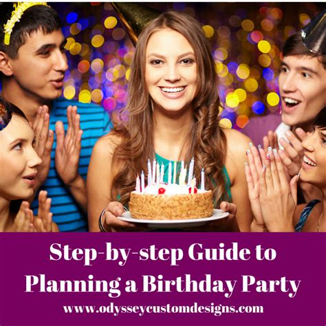 steps to planning office party step by step guide to planning a birthday
