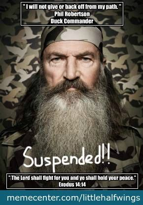 Phil Robertson Memes - phil robertson i stand with phil by littlehalfwings