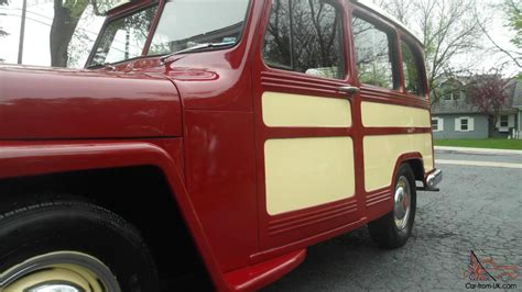 Jeep Woody Wagon For Sale 1951 Willys Jeep Overland Station Wagon Woody