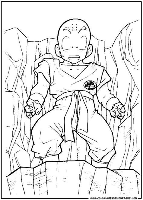 imagenes de krilin en blanco y negro 112 dessins de coloriage dragon ball z 224 imprimer sur