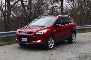 2016 Ford Escape Review 2016 Ford Escape Titanium Canadian Auto Review