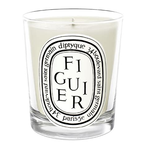 candele diptyque diptyque figuier fig candle candle delirium