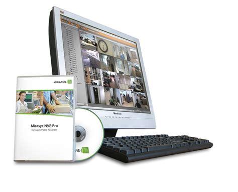ip recording software mirasys ip technology