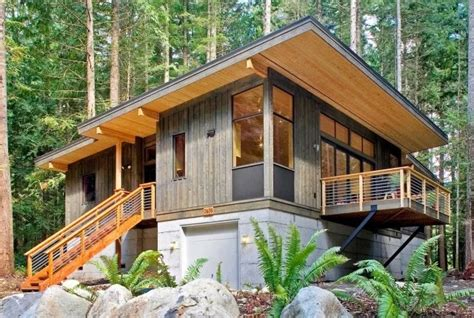 50 best small modern wooden house design ideas