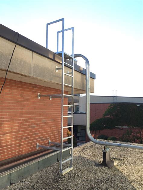 ladder on a roof steel roof access ladders car interior design