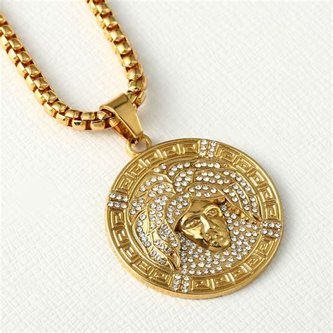 pendant necklace 24k gold god pendant jewelry