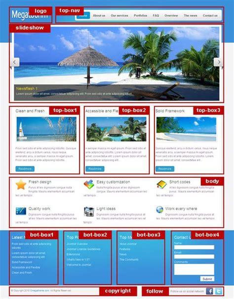 best joomla 3 templates 17 best images about travel websites on villas
