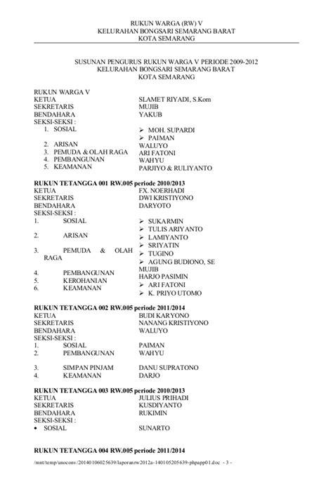 laporan rw 2012a