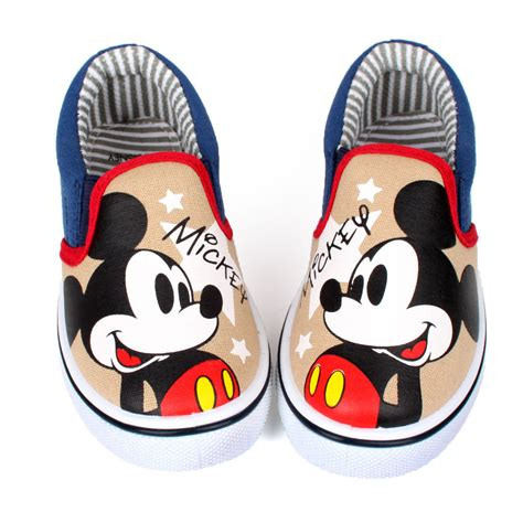 mickey mouse shoes for disney mickey mouse boys slip on shoes casual shoes