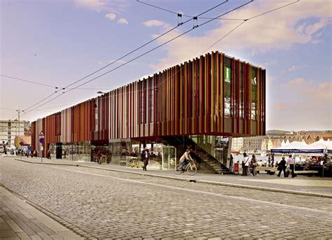 architecture of markets fish market in bergen eder biesel arkitekter archdaily