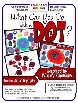 kandinsky biography for students student dots and art on pinterest