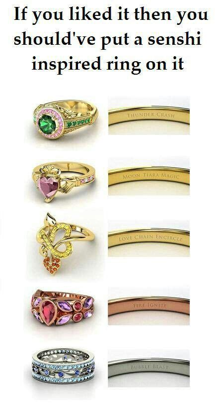 8 Fruity Inspired Accessories by Sailor Moon Inspired Rings Jewelry Sailor