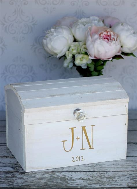 wedding card box vintage shabby chic wedding decor item p10574 2453747 weddbook
