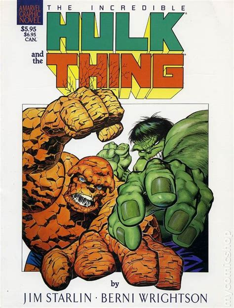 the thing marvel comic book incredible hulk and the thing the big change gn 1987