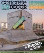 concrete decor articles concrete decor magazine