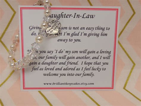 Wedding Quotes Welcome To The Family by Future In Wedding Gift Bracelet By