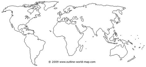template of the continents outline world map with medium borders white continents and oceans tattoos peircings
