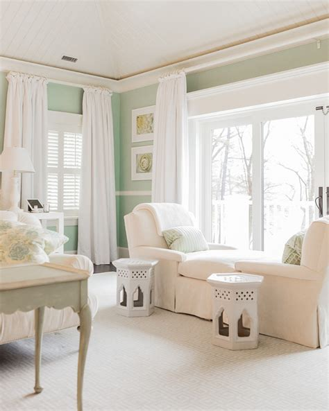 mint green bedroom classic family home with coastal interiors home bunch