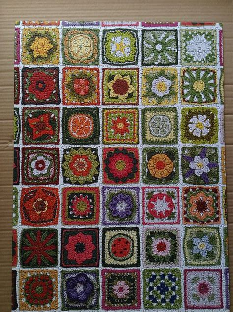 leaf pattern square 14 best ideas about mycrochet margaret hubert s flowers on