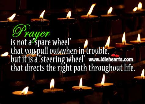 prayer    spare wheel   steering wheel
