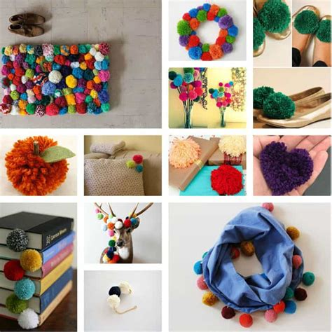 Colorful Bathroom Ideas Colorful Diy Pom Pom Rug And Another Creative Projects