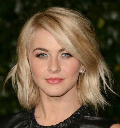 julianne hough round face 1000 ideas about medium choppy hair on pinterest choppy