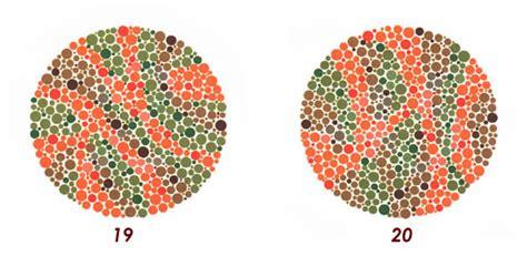 tavole per daltonici esame della vista test sul daltonismo test di ishishara