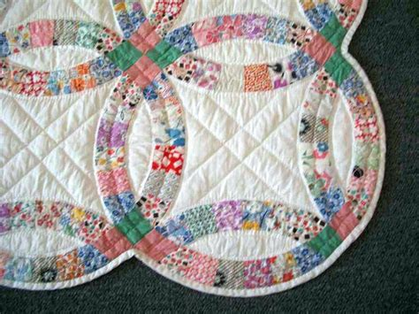 Awesome Double Wedding Ring Quilt Kit Pictures   Styles