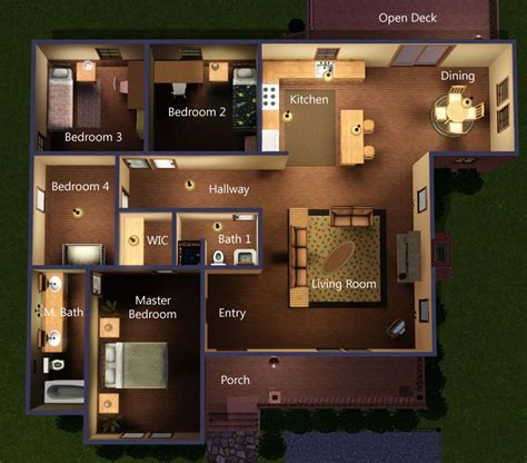home design software like sims mod the sims quot rambler quot urban log cabin