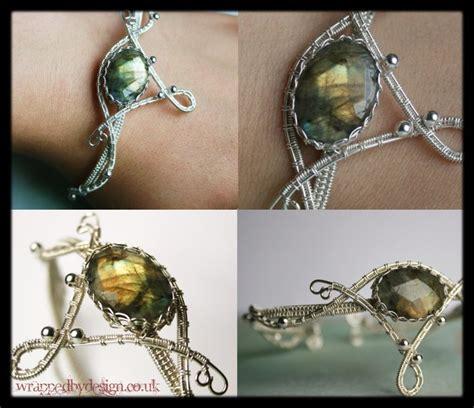 Silver Handmade Bracelets - handmade bracelet in silver by wrappedbydesign on deviantart