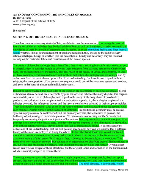 Essay Human Understanding Locke Sparknotes by Hume Essay Concerning Human Understanding Sparknotes