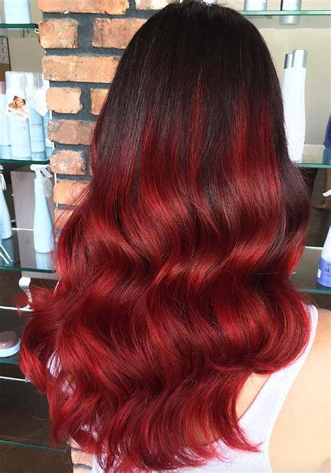 very sexy burgundy hair color awesome hair style 100 badass red hair colors auburn cherry copper