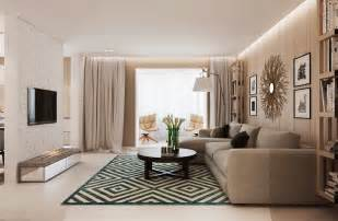 Interior Design Your Home Warm Modern Interior Design