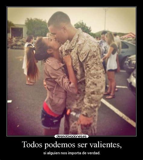 imagenes de amor a distancia de militares todos podemos ser valientes desmotivaciones
