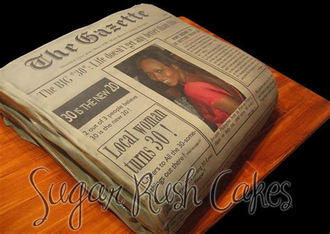 newspaper themed cake cake gallery sugar rush cakes montreal