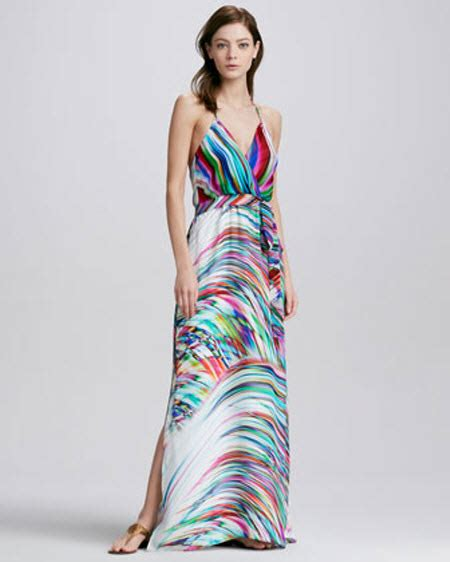 Halter Printed Maxi Dress milly printed halter maxi dress