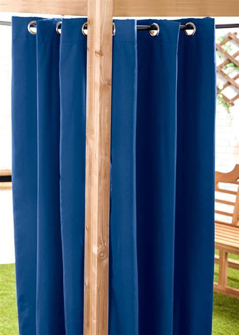waterproof drapes waterproof outdoor curtain eyelet panel 55 quot garden d 233 cor