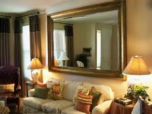Sofa Ideas For Small Living Rooms artistic framed mirror s for the living room