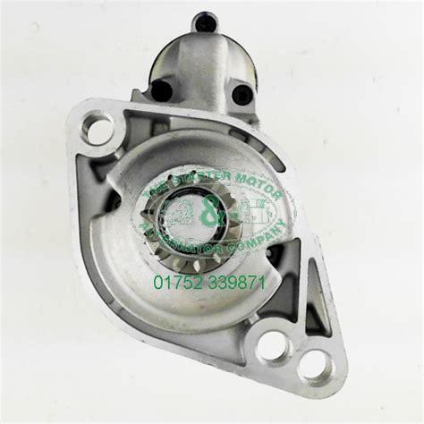 skoda octavia starter motor skoda octavia ii 1 4 tsi 08 starter motor s2442