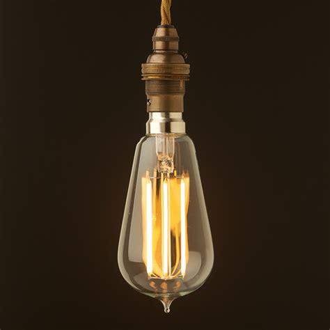 Antique Brass Pendant Lights Vintage Style B22 Antique Brass Pendant