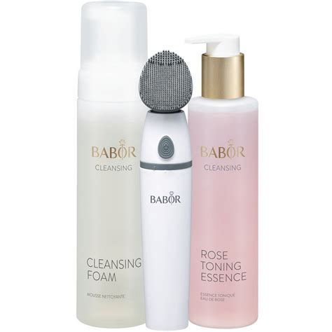 Cleansing Set babor cleansing silicone cleansing brush set